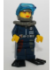 Minifig No: alp023  Name: Cam with Black Flippers, Mission Deep Sea