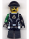 Minifig No: alp032  Name: Diamond, Alpha Team Arctic