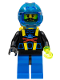 Minifig No: aqu008  Name: Aquashark Hybrid