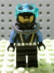 Minifig No: aqu016  Name: Aquaraider Diver 2