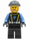 Minifig No: aqu017  Name: Aquaraider Diver 3