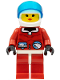 Minifig No: arc001  Name: Arctic - Red, White Helmet