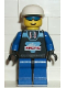 Minifig No: arc004  Name: Arctic - Black, White Cap