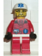 Minifig No: arc009  Name: Arctic - Red, Medic