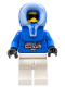 Minifig No: arc013  Name: Arctic - Blue, Blue Hood, White Legs