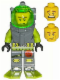 Minifig No: atl001  Name: Atlantis Diver 1 - Axel