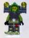Minifig No: atl012  Name: Atlantis Diver 1 - Axel - With Vertical Lights