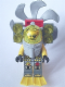 Minifig No: atl024  Name: Atlantis Diver 3 - Ace Speedman - With Lights, Propeller, Yellow Flippers and Trans-Yellow Visor