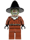 Minifig No: bat016  Name: Scarecrow, Glow in the Dark Head