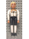 Minifig No: belvmale11  Name: Belville Male - Prince Justin - White Shirt with Laces and Royal Crest Logo Pattern