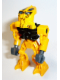 Minifig No: bio024  Name: Bionicle Mini - Toa Mahri Bright Light Orange