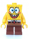 "Minifig No: bob001  Name: SpongeBob - Basic ""I'm Ready"" Look"