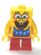 Minifig No: bob036  Name: SpongeBob - Blue Lei