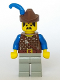 Minifig No: cas006  Name: Dark Forest - Forestman 2