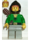 Minifig No: cas008  Name: Dark Forest - Forestman 3 with Quiver