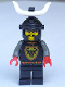 Minifig No: cas046  Name: Knights' Kingdom I - Cedric the Bull (Robber Chief)