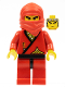Minifig No: cas050  Name: Ninja - Red