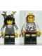 Minifig No: cas057  Name: Ninja - Shogun, White with Armor
