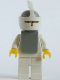 Minifig No: cas083a  Name: Classic - Yellow Castle Knight White Cavalry