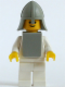 Minifig No: cas084a  Name: Classic - Yellow Castle Knight White
