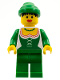 Minifig No: cas122new  Name: Forestwoman (Reissue)