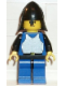 Minifig No: cas188  Name: Breastplate - Blue with Black Arms, Blue Legs with Black Hips, Black Neck-Protector