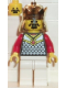 Minifig No: cas205  Name: Chess King, Red Plastic Cape