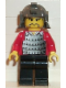 Minifig No: cas211  Name: Ninja - Samurai, Red Old