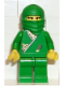 Minifig No: cas212  Name: Ninja - Princess, Green