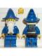Minifig No: cas249  Name: Dragon Knights - Majisto Wizard, Black Plastic Cape