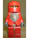 Minifig No: cas267a  Name: Knights Kingdom II - Santis with Gold Pattern Armor, Dark Bluish Gray Hands