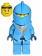 Minifig No: cas268  Name: Knights Kingdom II - Jayko Plain Torso, Gold Pattern Armor, Dark Blue Hips