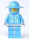 Minifig No: cas276  Name: Knights Kingdom II - Jayko Printed Torso, Broad Brim Helmet, Elderly Face (Chess Pawn)