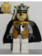 Minifig No: cas295  Name: Knights Kingdom II - King Jayko