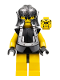 Minifig No: cas298  Name: Knights Kingdom II - Dracus