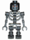 Minifig No: cas327  Name: Fantasy Era - Skeleton Warrior 1, Black