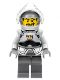 Minifig No: cas335  Name: Fantasy Era - Crown Knight Plain with Breastplate, Helmet with Visor, Curly Eyebrows and Goatee, Dark Bluish Gray Hips and Legs