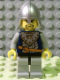 Minifig No: cas349  Name: Fantasy Era - Crown Knight Scale Mail with Crown, Helmet with Neck Protector, 3 Spots under Left Eye