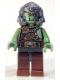 Minifig No: cas368  Name: Fantasy Era - Troll Warrior 3 (Orc)