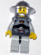 Minifig No: cas387  Name: Fantasy Era - Crown Knight Scale Mail with Crown, Breastplate, Helmet with Broad Brim, Smirk and Stubble Beard