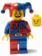 Minifig No: cas403a  Name: Fantasy Era - Jester (Dual Sided Head)