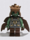 Minifig No: cas420a  Name: Fantasy Era - Troll King with Copper Crown
