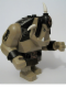 Minifig No: cas423  Name: Big Figure - Fantasy Era - Troll, Dark Tan with Black Armor