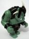 Minifig No: cas424  Name: Big Figure - Fantasy Era - Troll, Sand Green with Black Armor