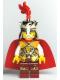 Minifig No: cas441  Name: Kingdoms - Lion King, Plume