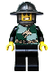 Minifig No: cas455  Name: Kingdoms - Dragon Knight Quarters, Helmet with Broad Brim, Bared Teeth