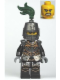 Minifig No: cas462  Name: Kingdoms - Dragon Knight Armor with Chain, Helmet Closed, Bared Teeth