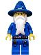 Minifig No: cas473  Name: Kingdoms - Blue Wizard