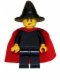 Minifig No: cas484  Name: Witch - Plain with Cape