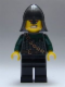 Minifig No: cas485  Name: Kingdoms - Dragon Knight Scale Mail with Chain and Belt, Helmet with Neck Protector, Bared Teeth